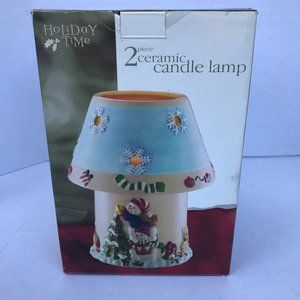 Christmas Candle Lamp Holiday Time